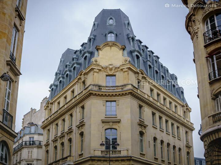 Louvre borough, in Paris, France