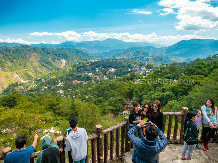 Mines View Park, in Baguio City, Benguet, Philippines
