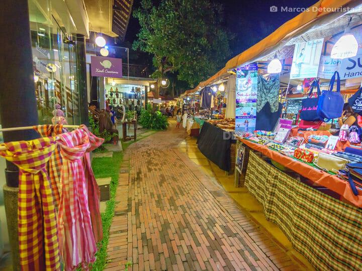 Night Market in Siem Reap, Cambodia