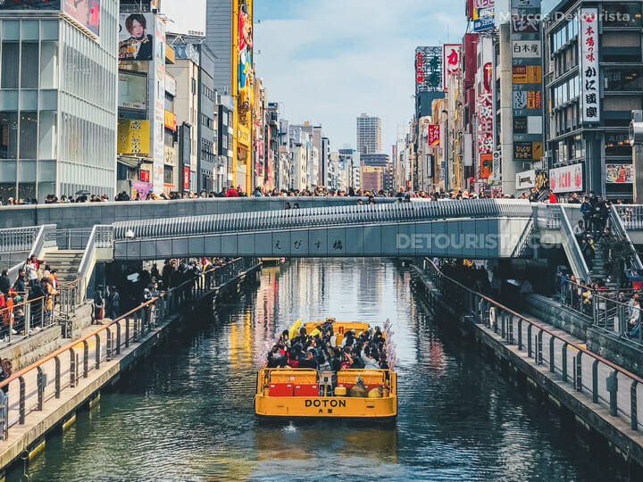 Tombori River Cruise, Osaka