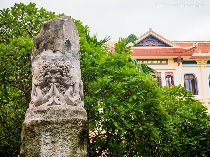 Vietnam Fine Arts Museum, in Old Quarter, Hanoi, Vietnam