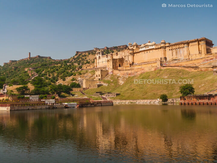 Amber Fort in Amer, Jaipur, Rajasthan, India