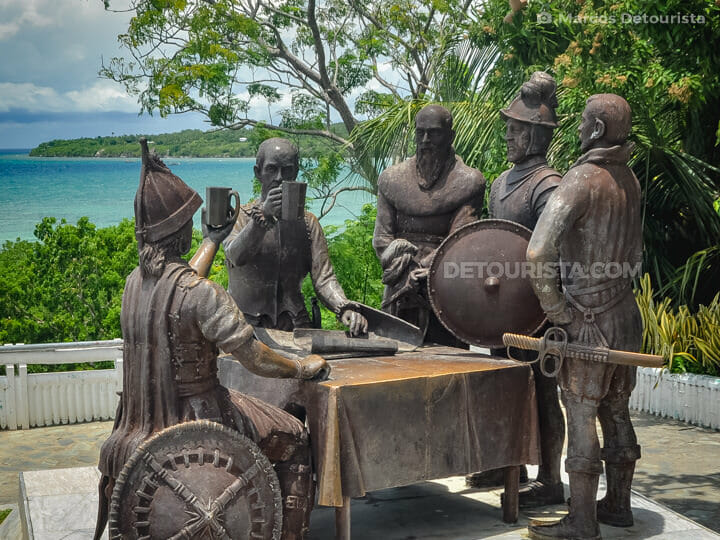Blood Compact Site in Tagbilaran, Bohol, Philippines