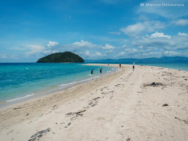 Bon Bon Sandbar (Bon Bon Beach), Romblon Island