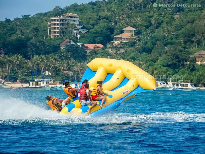 Boracay flyfish ride
