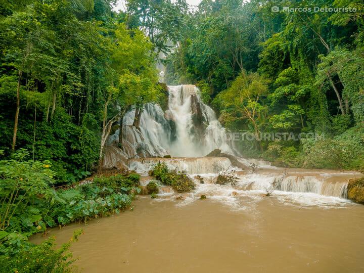 Kuang Si Waterfall in Luang Prabang, Laos