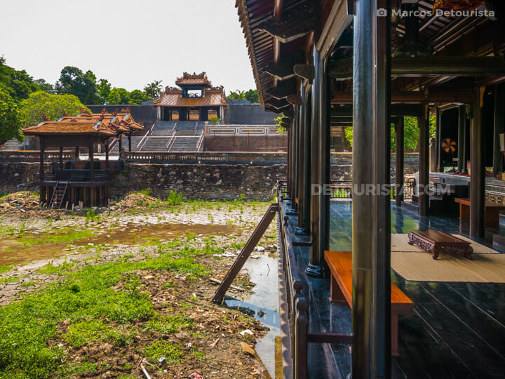 Lang Tu Duc (tomb) in Hue, Vietnam