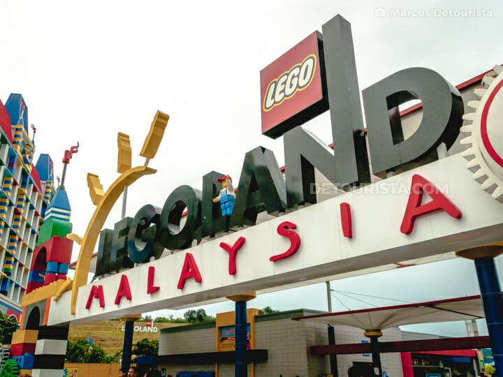 Grand Entrance at Legoland, Johor Bahru, Malaysia