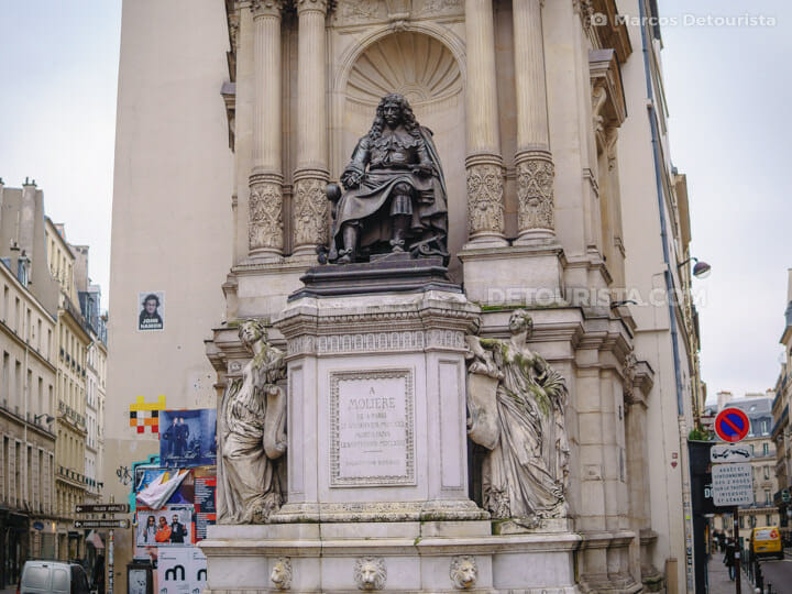 Louvre borough, in Paris