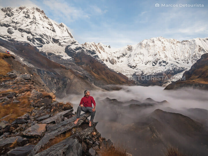 Marcos at Annapurna Base Camp