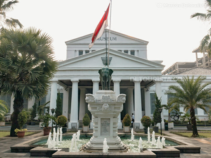 National Museum of Indonesia in Jakarta, Indonesia