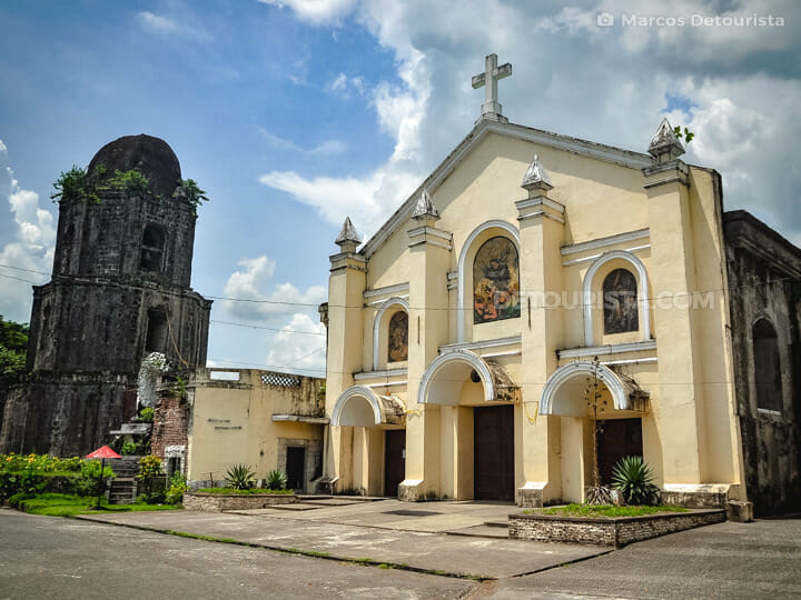 Oas Church in Albay, Philippines