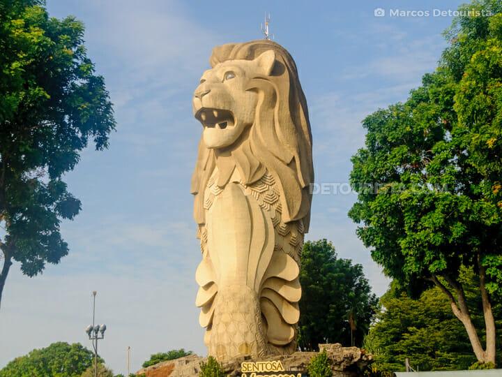 Sentosa Giant Merlion
