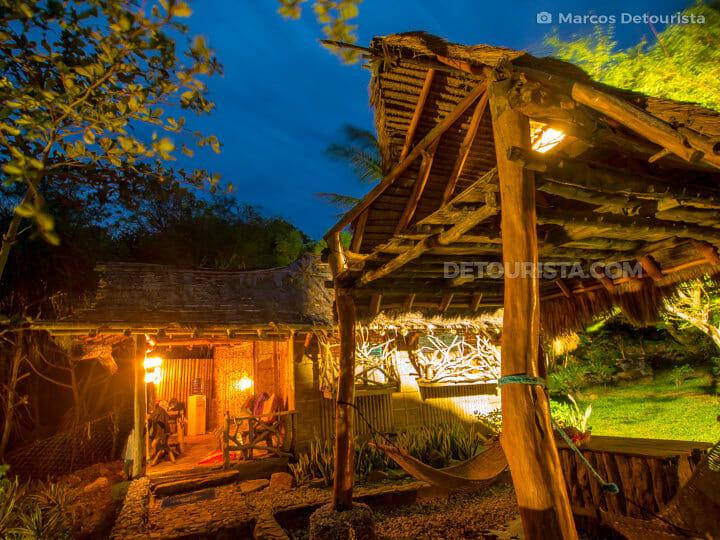 Shell Cottage and Hammock Hut at Nature's Eye Beach Resort
