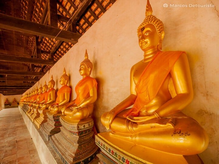 Wat Phutthaisawan in Ayutthaya, Thailand