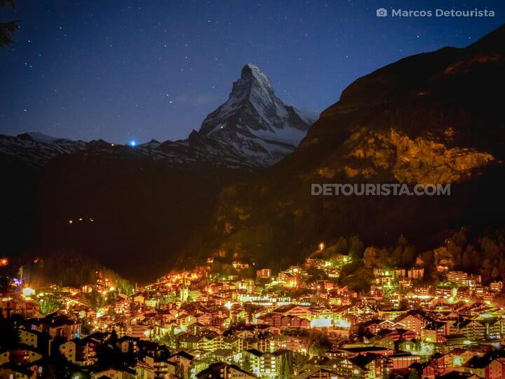 Zermatt Matterhorn Viewpoint, in Zermatt, Switzerland