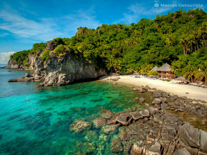 Apo Island in Dauin, Negros Oriental, Philippines