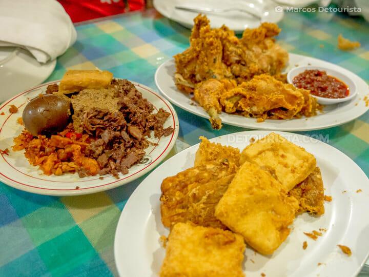 Ayam Goreng Suharti in Yogyakarta, Java, Indonesia