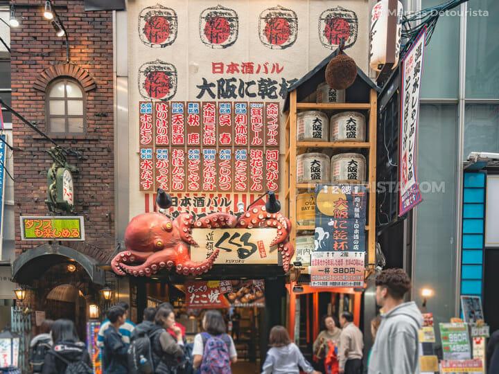 Dotonbori food district, Osaka