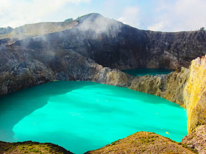 Flores Island - Kelimutu Lake