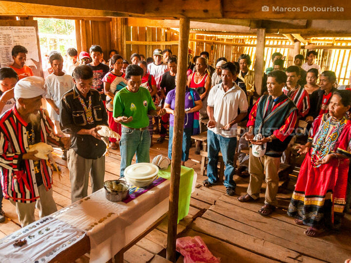 Higaonon Tribe Blessing and Welcome Ritual in  Brgy. Limunsudan, Iligan City, Philippines