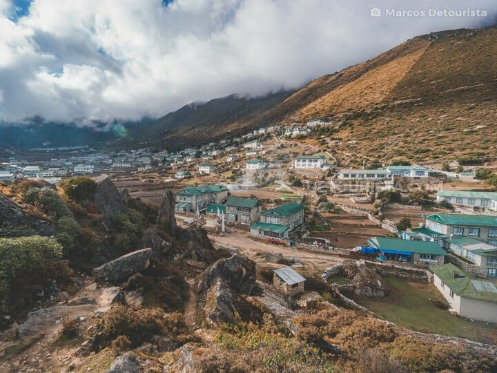 Hotel Everest View to Khumjung, EBC Trek