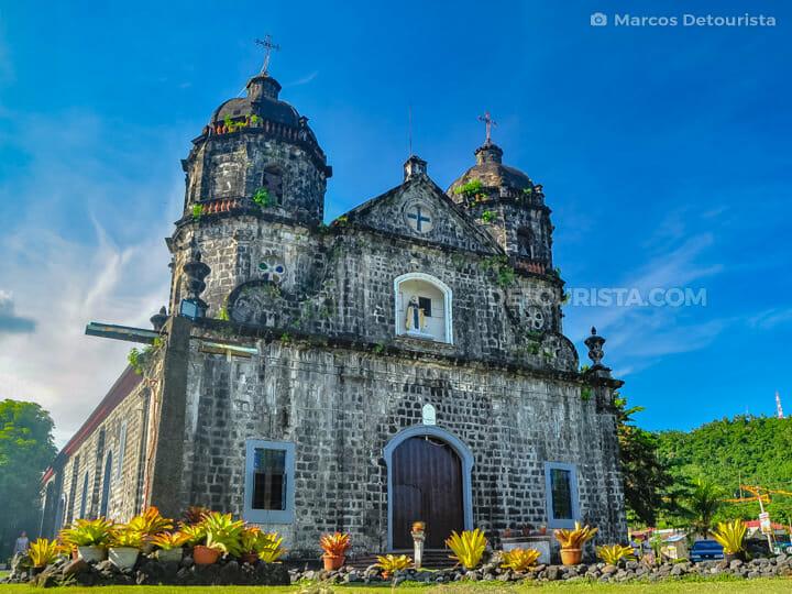 Santo Domingo Church in Santo Domingo, Albay, Philippines