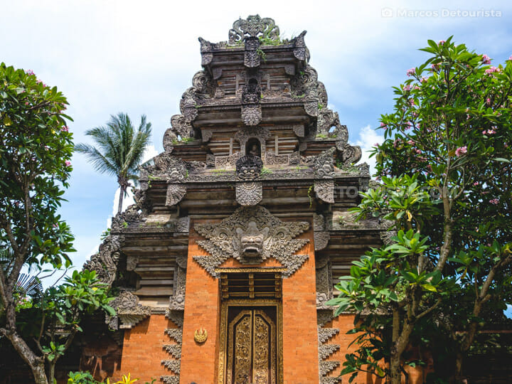 Ubud Palace, Ubud, Bali, Indonesia