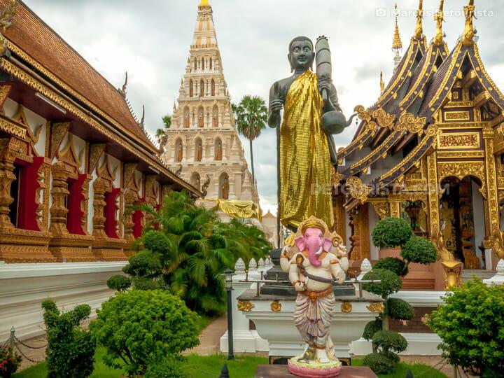 Wat Chedi Liem at Wiang Kum Kang, Chiang Mai, Thailand