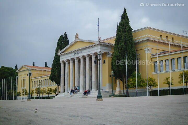 Zappeion buildng in Athens, Greece