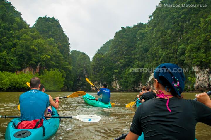 Ao Tha Lane kayak tour