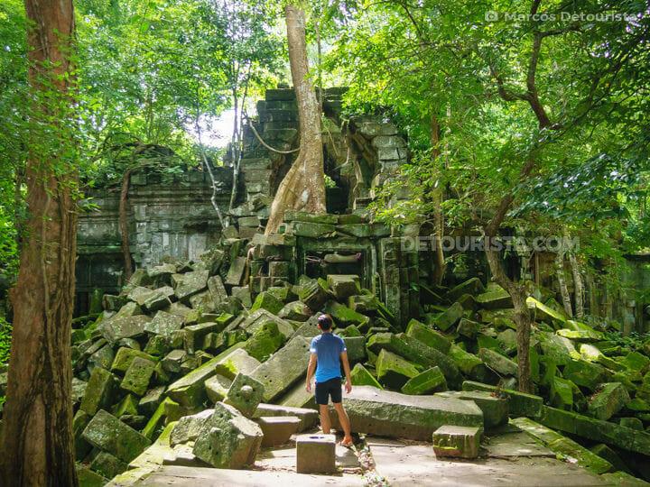 Beng Melea Temple, near Siem Reap, Cambodia