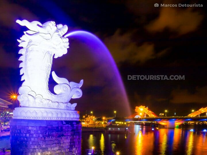 017-Carp-Statue-and-Dragon-Bridge-at-night-Da-Nang-Da-Nang-Vietnam-150909-203637