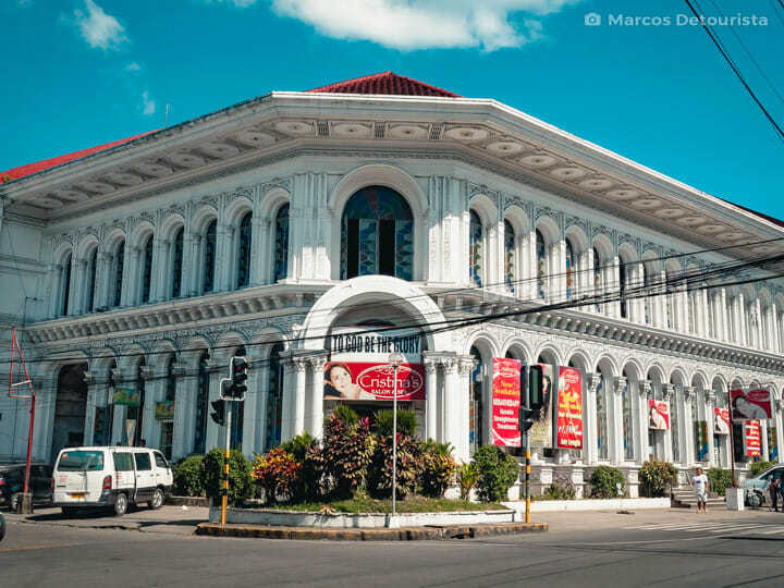Downtown Tacloban, Leyte, Philippines