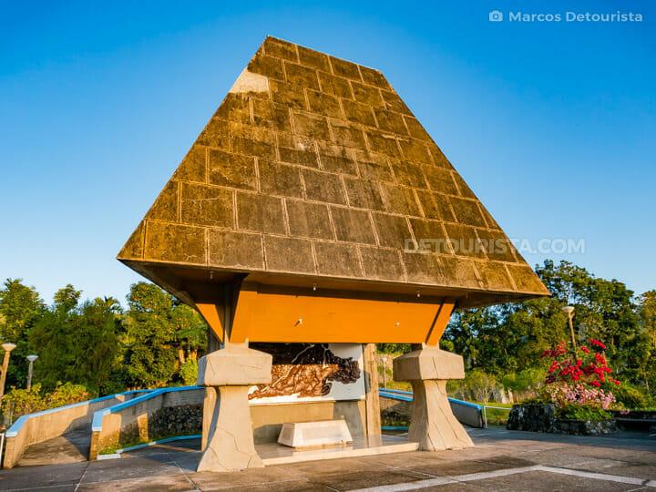 Kiangan Shrine and War Memorial, in Kiangan, Ifugao, Philippines