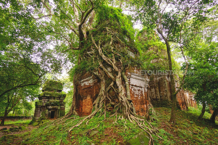 Koh Ker-Pram Temple