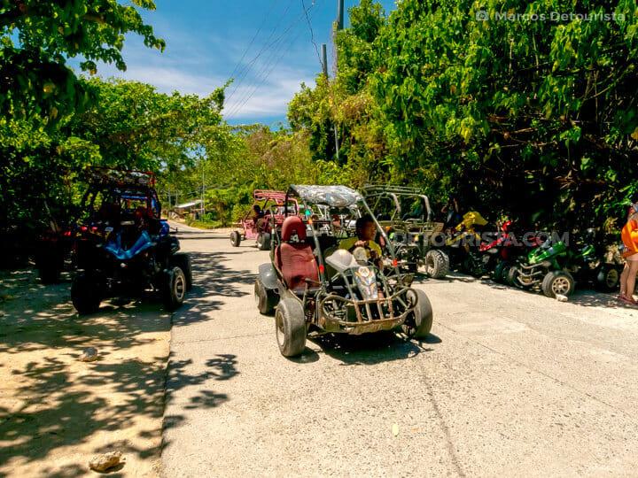 Mount Luho ATV, in Boracay Island, Malay, Aklan, Philippines