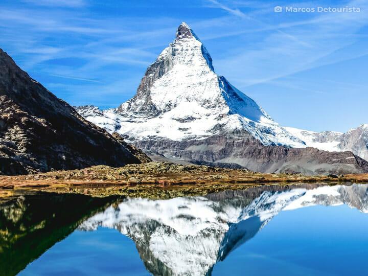 Mount Matterhorn near Zermatt, Switzerland