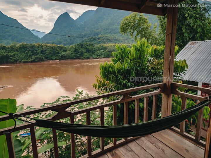 Nam Ou Riverside , Muang Ngoi Neua, Laos