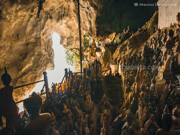 Pak Ou Caves in Luang Prabang, Laos