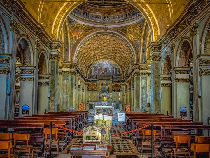 Santa Maria delle Grazie in Milan, Italy