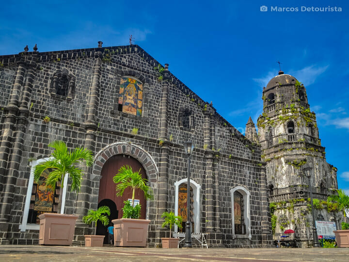 Tabaco Church in Albay, Philippines
