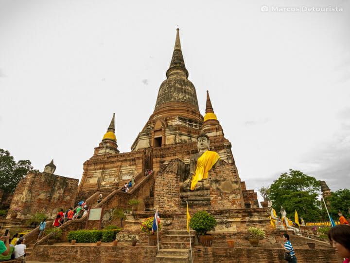 Wat Yai Chai Mang Khon in Ayutthaya, Thailand