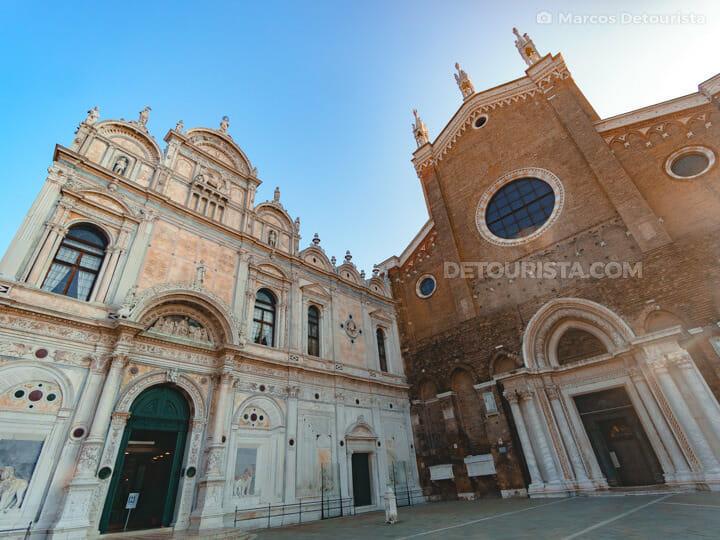 Basilica dei Santi Giovanni e Paolo in Venice, Italy