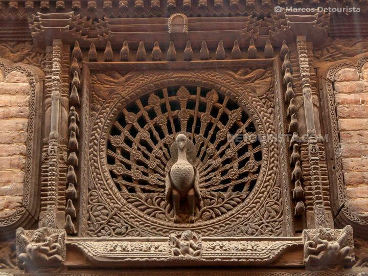 Bhaktapur Peacock Window