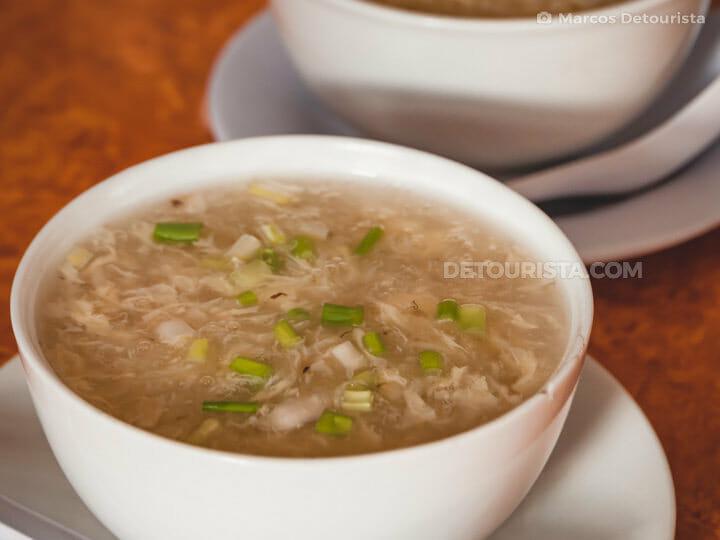 Bird's Nest soup, El Nido