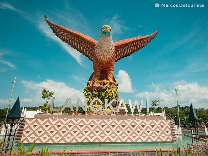 Eagle Square (Dataran Lang) in Langkawi, Kedah, Malaysia