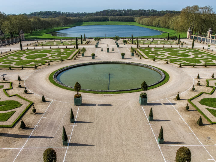 Gardens of Versailles, near Paris, France