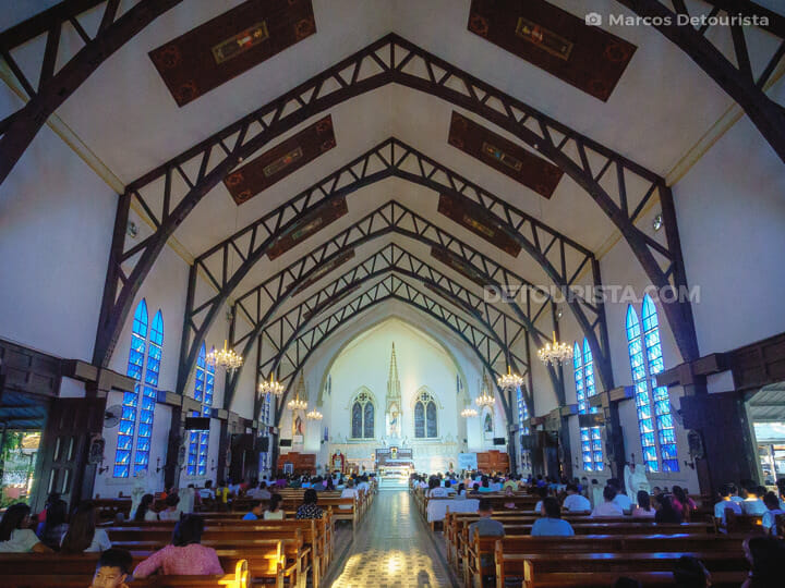Immaculate Conception Cathedral in Puerto Princesa City, Palawan