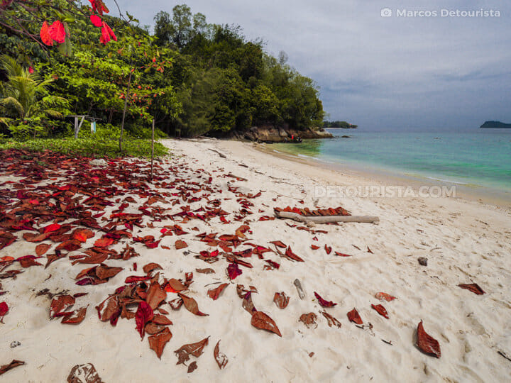 Mamutik Island in Tunku Abdul Rahman National Park, Kota Kinabalu, Sabah, Malaysia